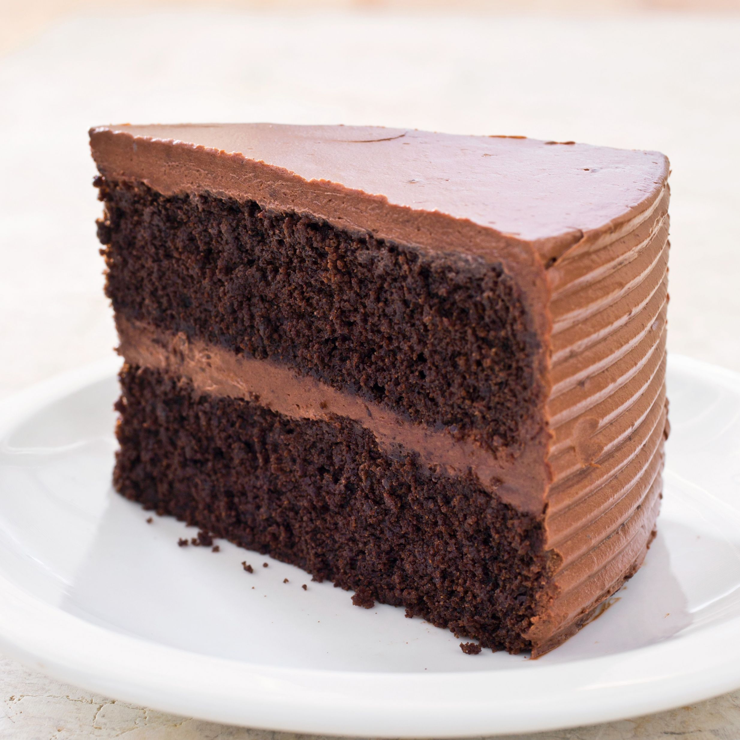 Gluten-Free Chocolate Layer Cake - Recipe Chocolate Layer Cake