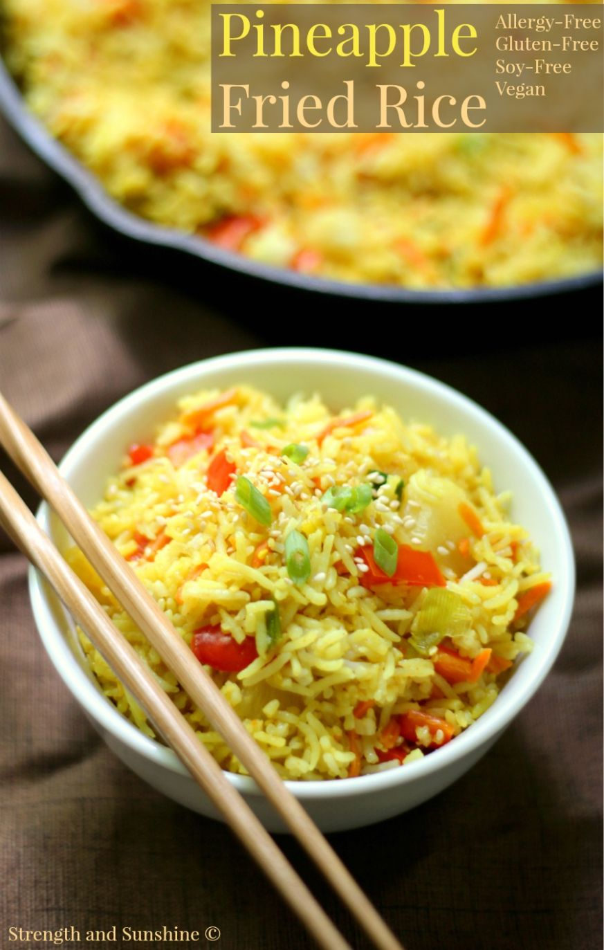 Gluten-Free Pineapple Fried Rice (Allergy-Free, Vegan) - Rice Recipes Gluten Free