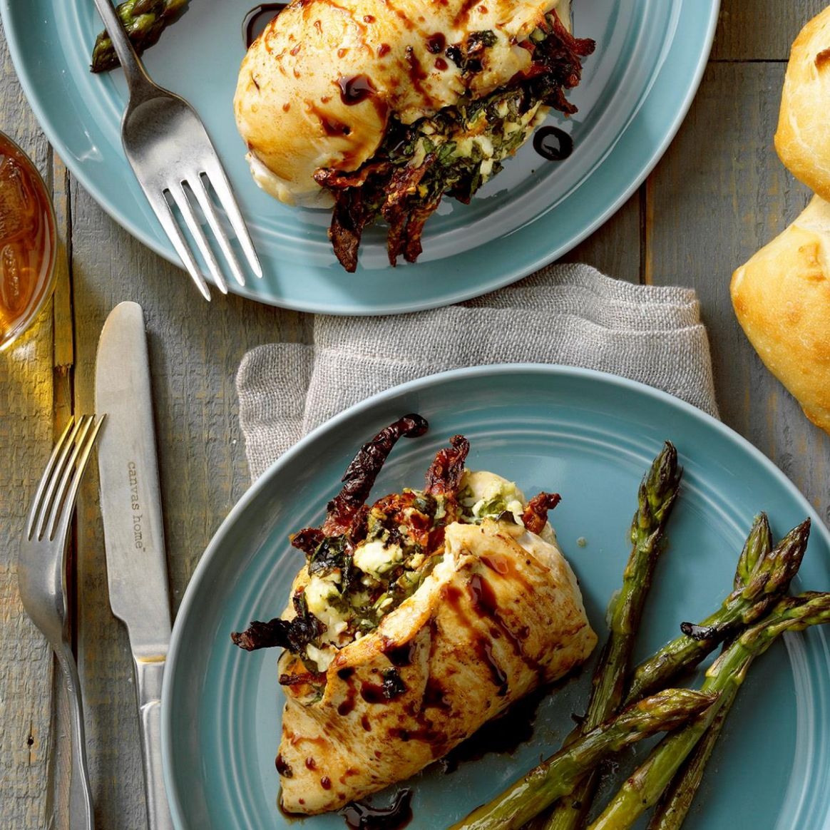 Goat Cheese and Spinach Stuffed Chicken - Recipe Chicken Breast Goat Cheese Spinach