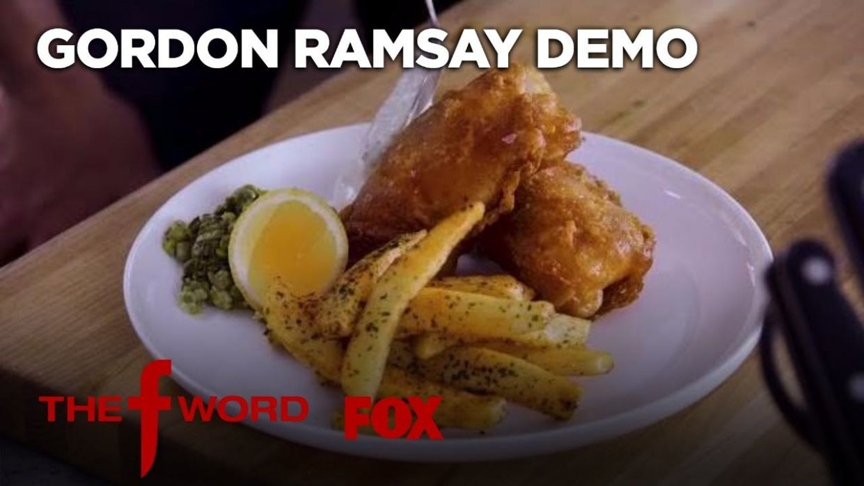 Gordon Ramsay Demonstrates How To Make Fish & Chips: Extended ..
