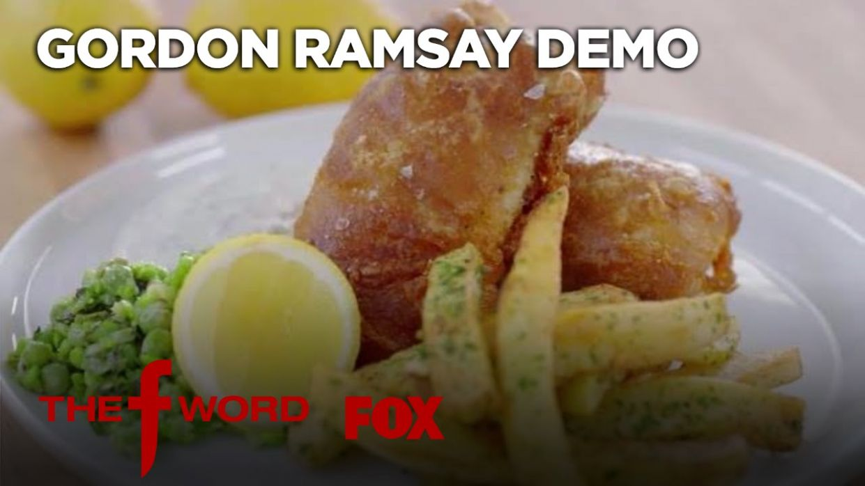Gordon Ramsay Demonstrates How To Make The Perfect Fish & Chips | Season 9  Ep
