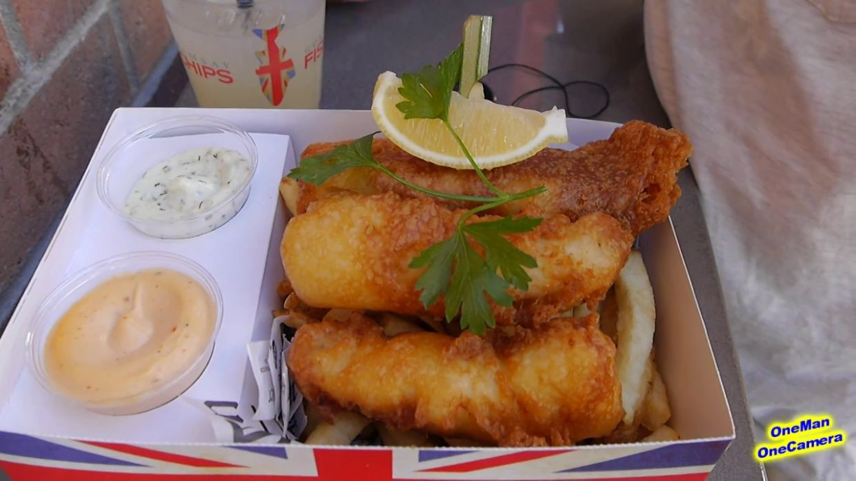 Gordon Ramsay Fish and Chips - Las Vegas - Recipe Fish And Chips Gordon Ramsay