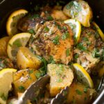 Greek Slow Cooker Lemon Chicken And Potatoes – Recipes Chicken Breast With Potatoes