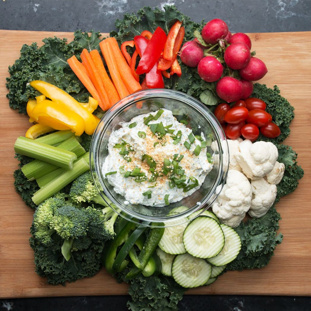 Greek Yogurt Veggie Dip Recipe by Tasty - Recipes Vegetable Dip