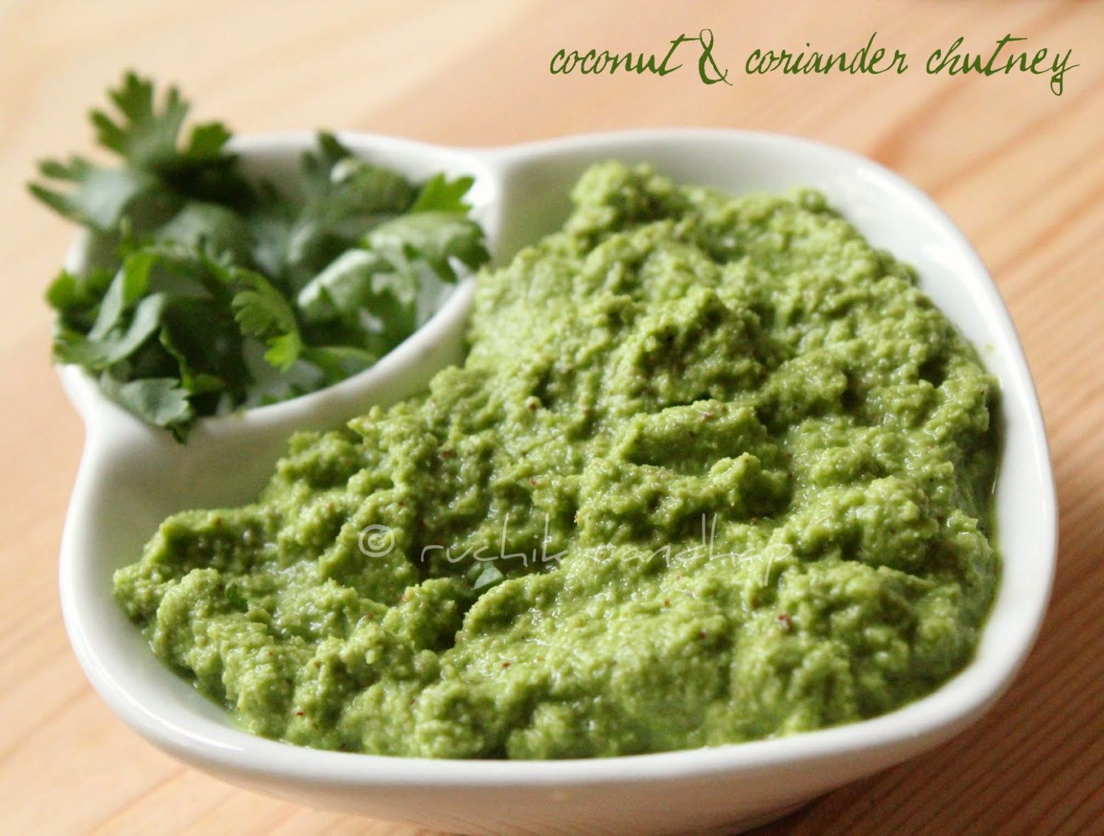 Green Chutney (For Sandwiches) | Ruchik Randhap - Sandwich Recipes Chutney