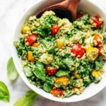 Green Goddess Quinoa Summer Salad Recipe – Pinch Of Yum – Recipes Summer Lunch