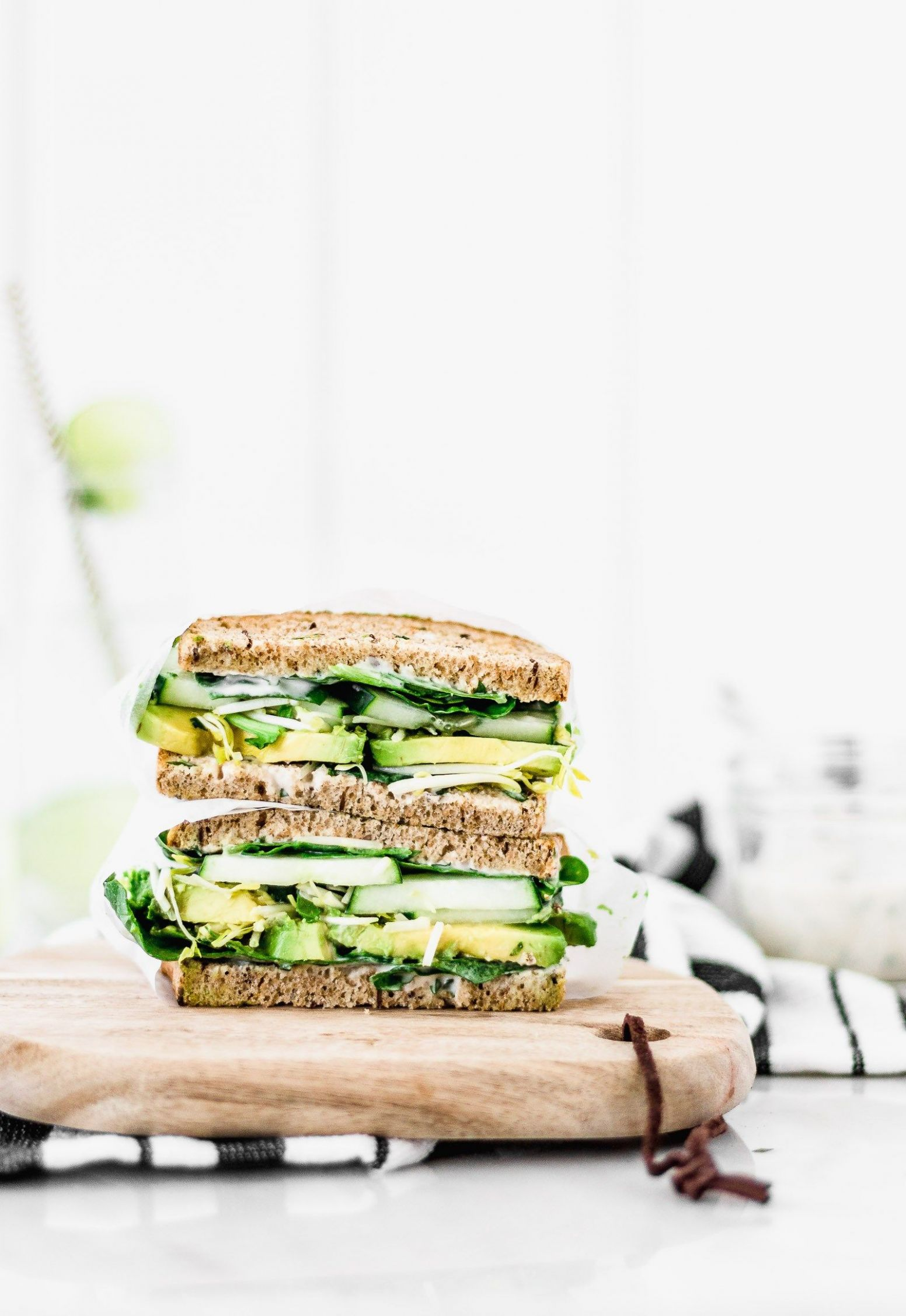 Green Goddess Sandwich - Sandwich Recipes Bbc Good Food