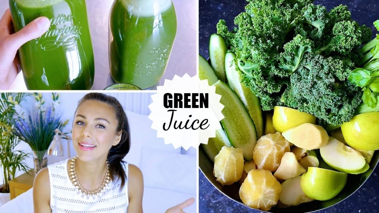 GREEN JUICE! (Recipe, Beauty & Health Benefits, Fasting, Weight Loss…) |  Annie Jaffrey - Weight Loss Recipes Youtube