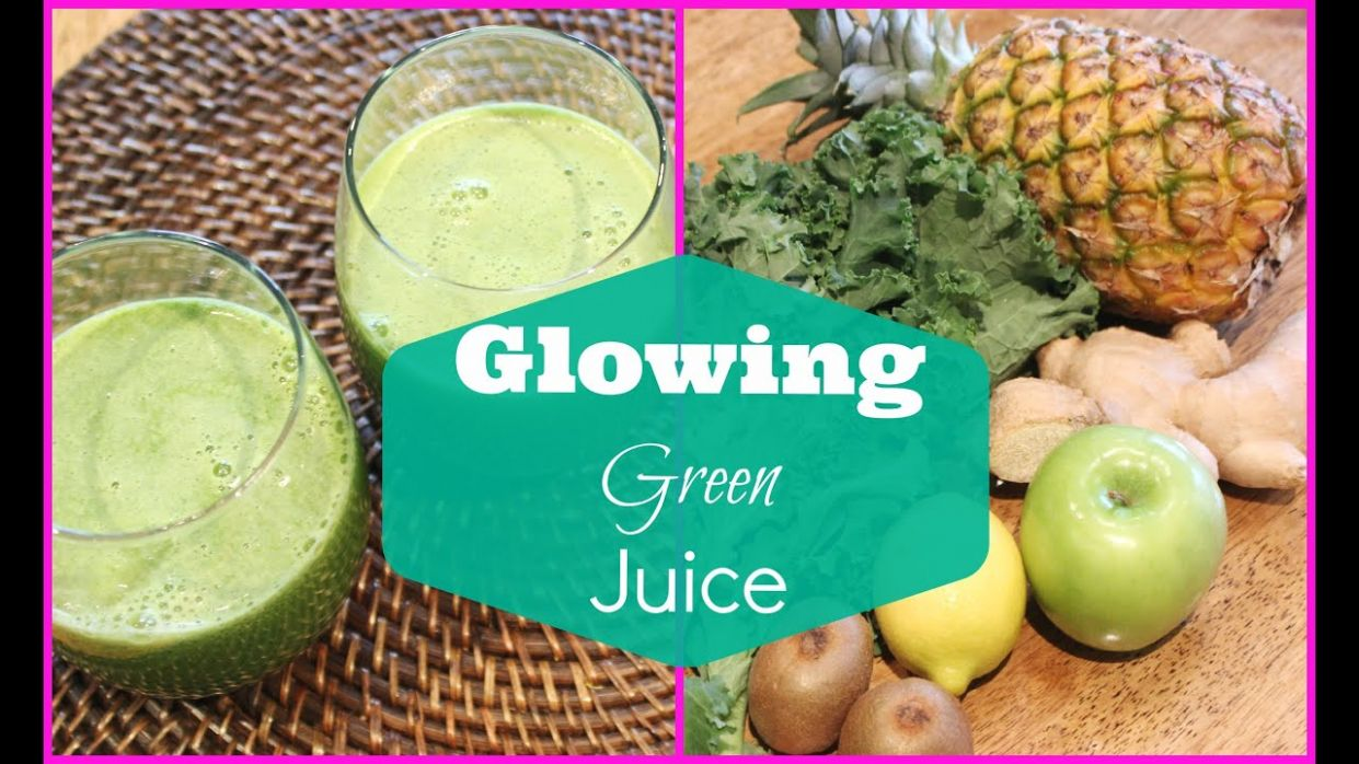 ♥ Green Juice Recipe for Weight Loss and Glowing Skin | Detox Green Juice ♥ - Juicing Recipes For Weight Loss Green Juice