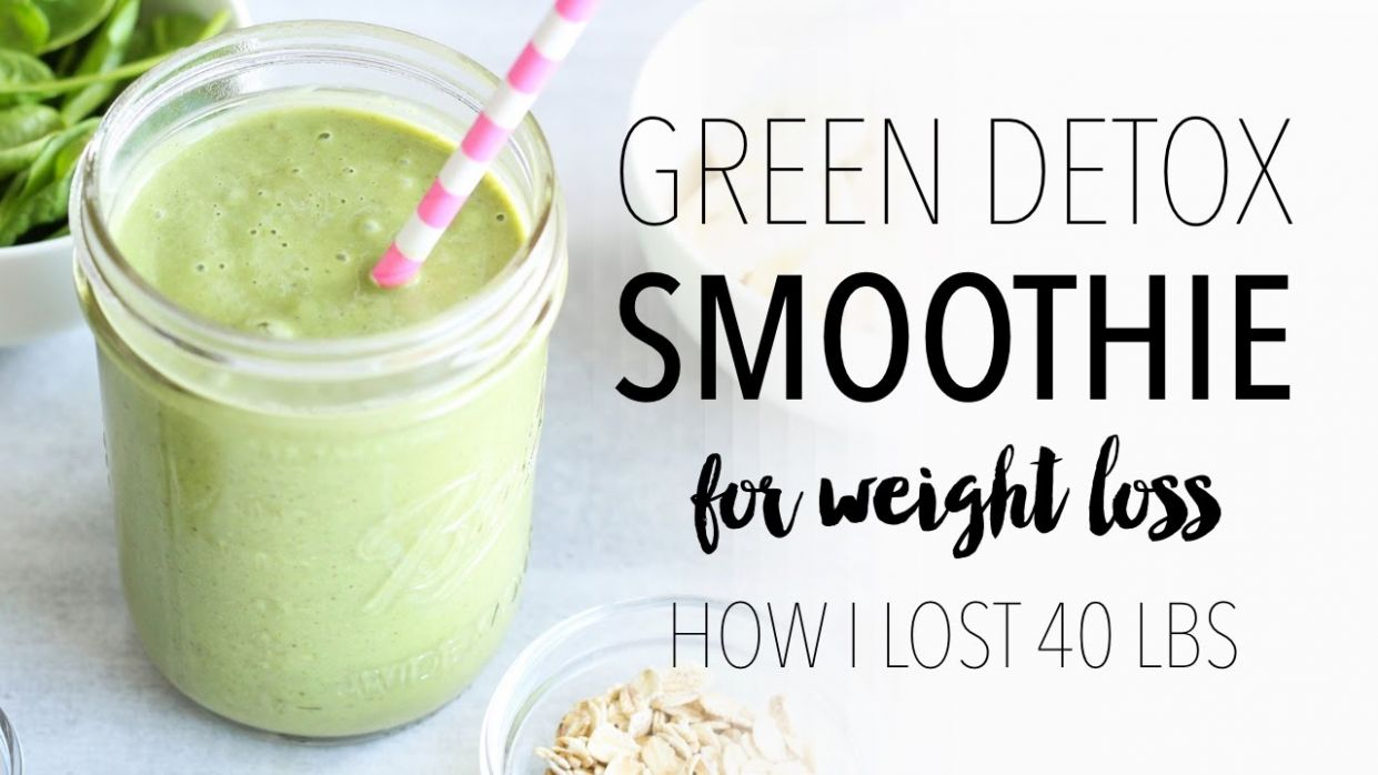 GREEN SMOOTHIE RECIPE FOR WEIGHT LOSS | Easy & Healthy Breakfast Ideas! - Smoothie Recipes For Weight Loss Youtube