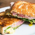 Greens, Eggs, And Ham, Grilled Cheese Sandwich – Sandwich Recipes To Go