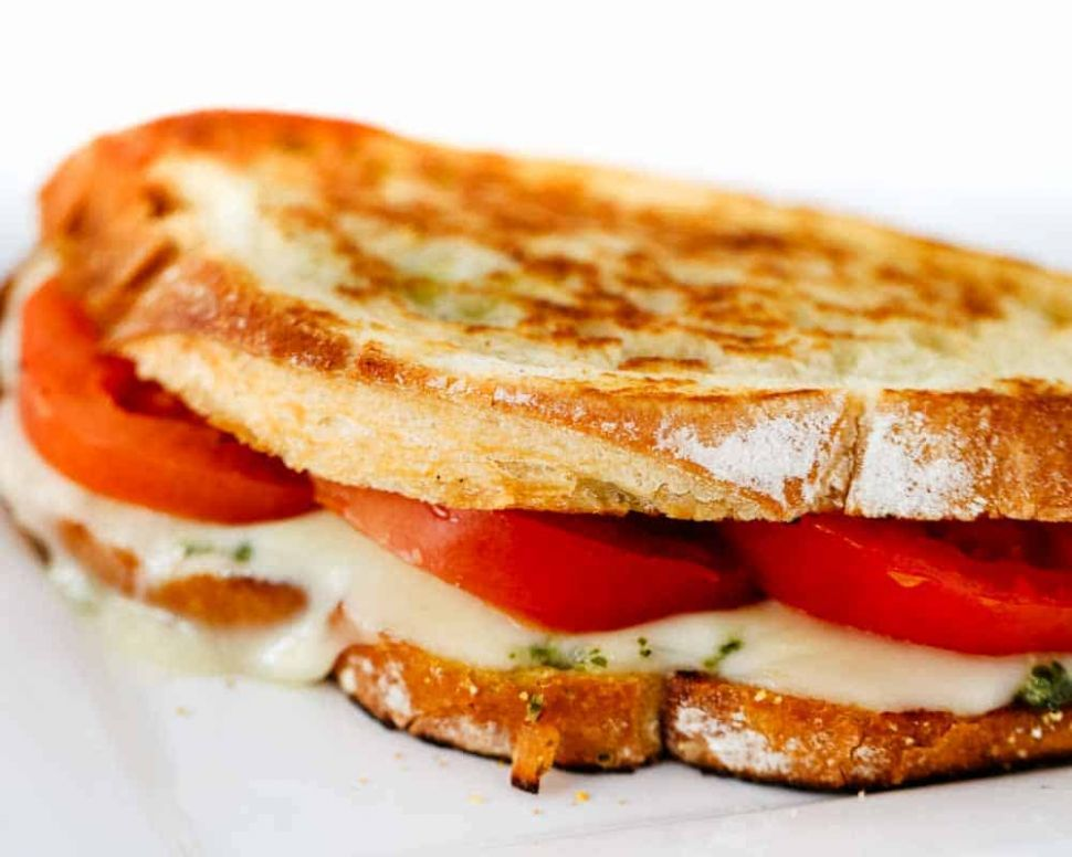 Grilled Caprese Sandwich Recipe - Sandwich Recipes Low Cholesterol