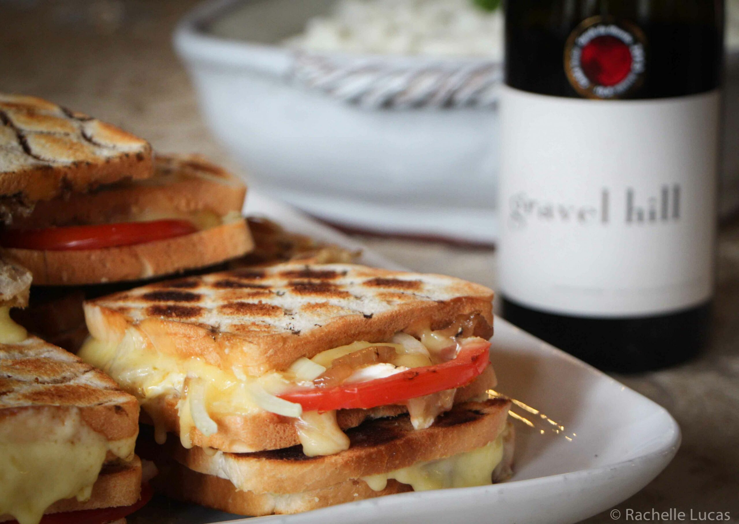 Grilled Cheese Sandwich - Braaibroodjies - Sandwich Recipes South Africa