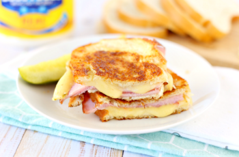 Grilled Ham and Pepper Jack Cheese Sandwich with Mayo - The ...