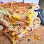 Grilled Pepper Jack Cheese Sandwich With Egg And Ham – Sandwich Recipes With Pepper Jack Cheese
