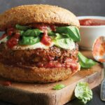Grilled Pizza Burger – Recipes For Pizza Burgers