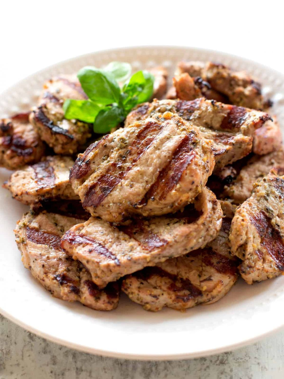 Grilled Pork Tenderloin - Recipes Pork Loin Medallions