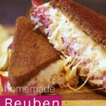 Grilled Reuben Sandwiches With Homemade Dressing – Sandwich Recipes Homemade