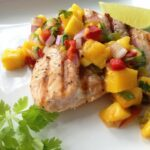 Grilled Salmon With Mango Salsa – Recipe Fish With Mango Salsa