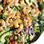 Grilled Shrimp Salad | The Recipe Critic