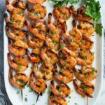 Grilled Shrimp with Honey Garlic Marinade