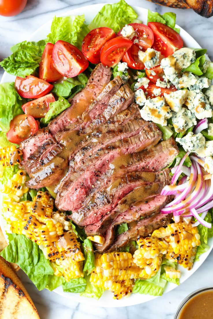 Grilled Steak Salad with Balsamic Vinaigrette - Salad Recipes To Go With Steak
