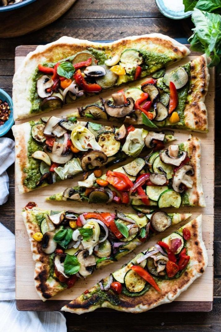Grilled Vegetable Pizza - Recipes Vegetable Pizza