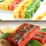 Grilled Vegetable Terrine With Tomato Sauce | Vegetable Terrine ..