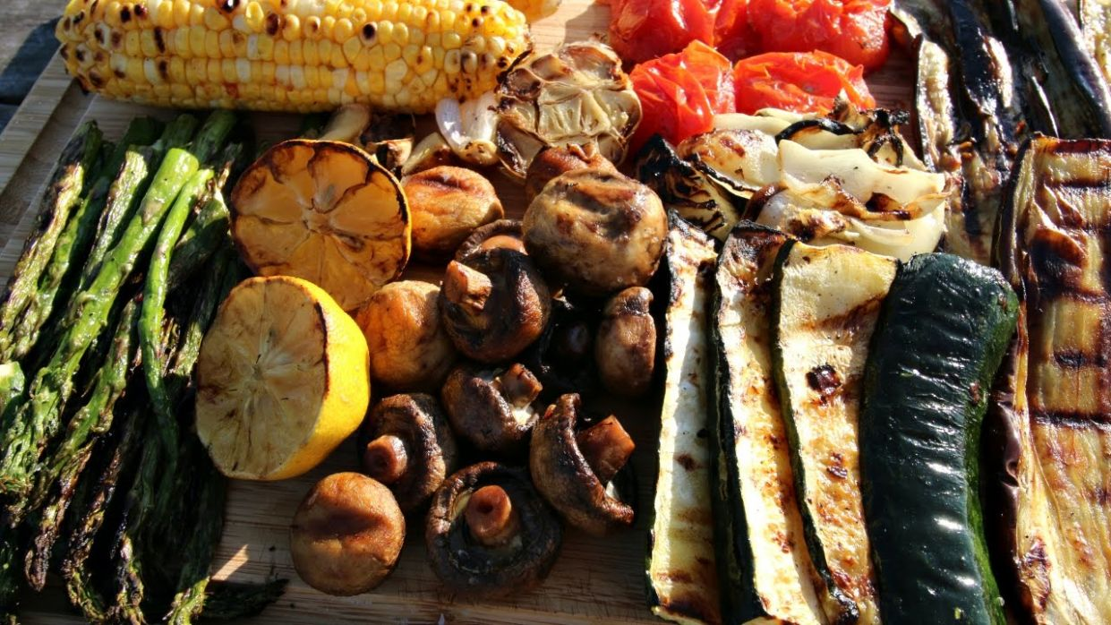 Grilled Vegetables the Easy Way | BBQ Veggies Recipe - Vegetable Recipes Bbq