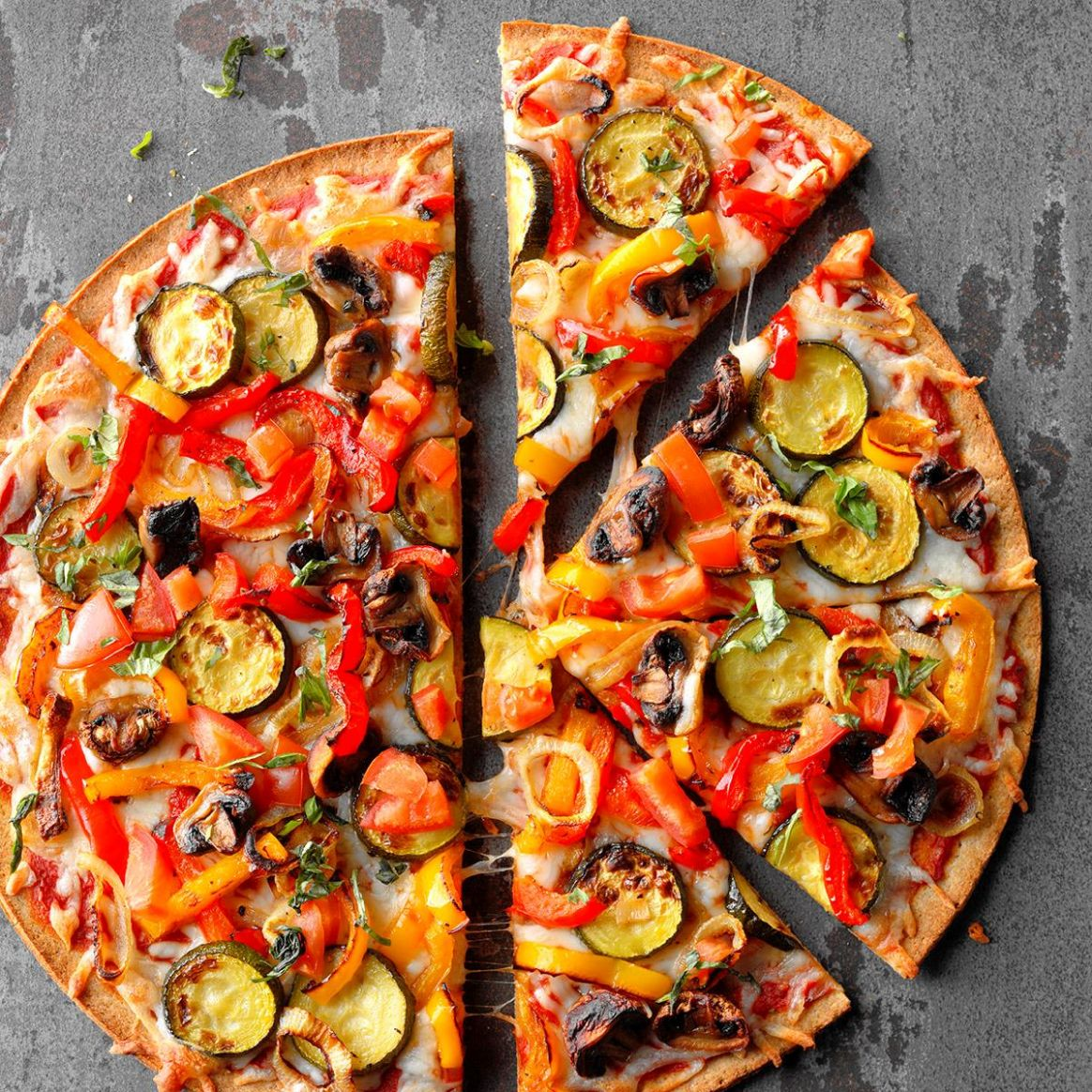 Grilled Veggie Pizza - Recipes Vegetable Pizza