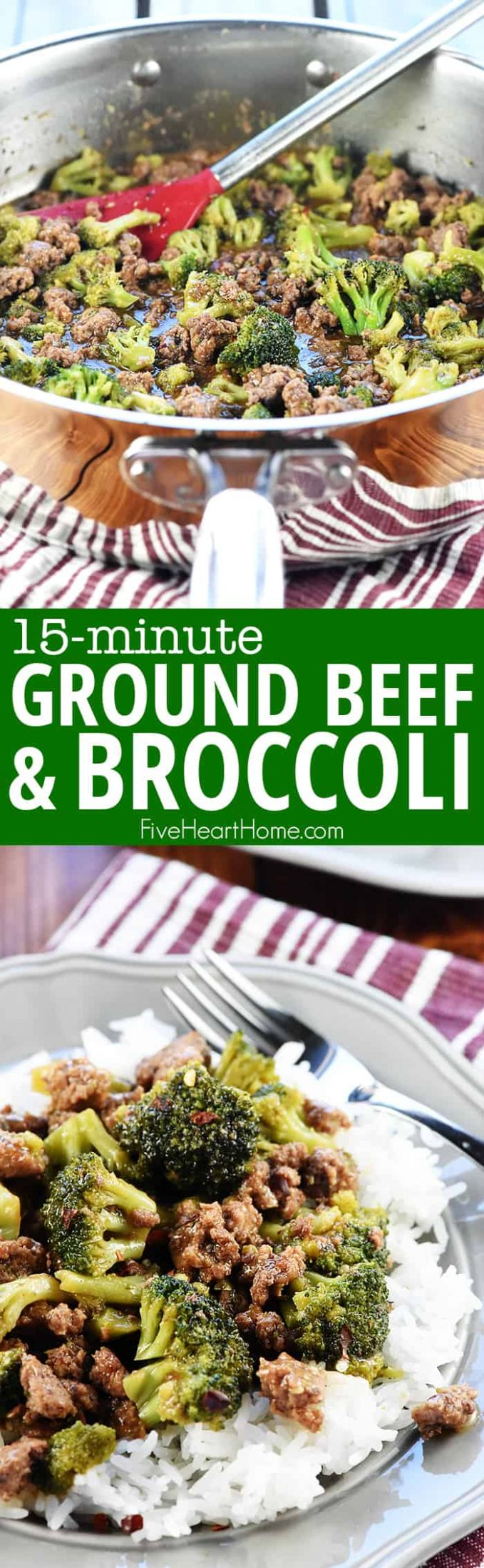 Ground Beef and Broccoli