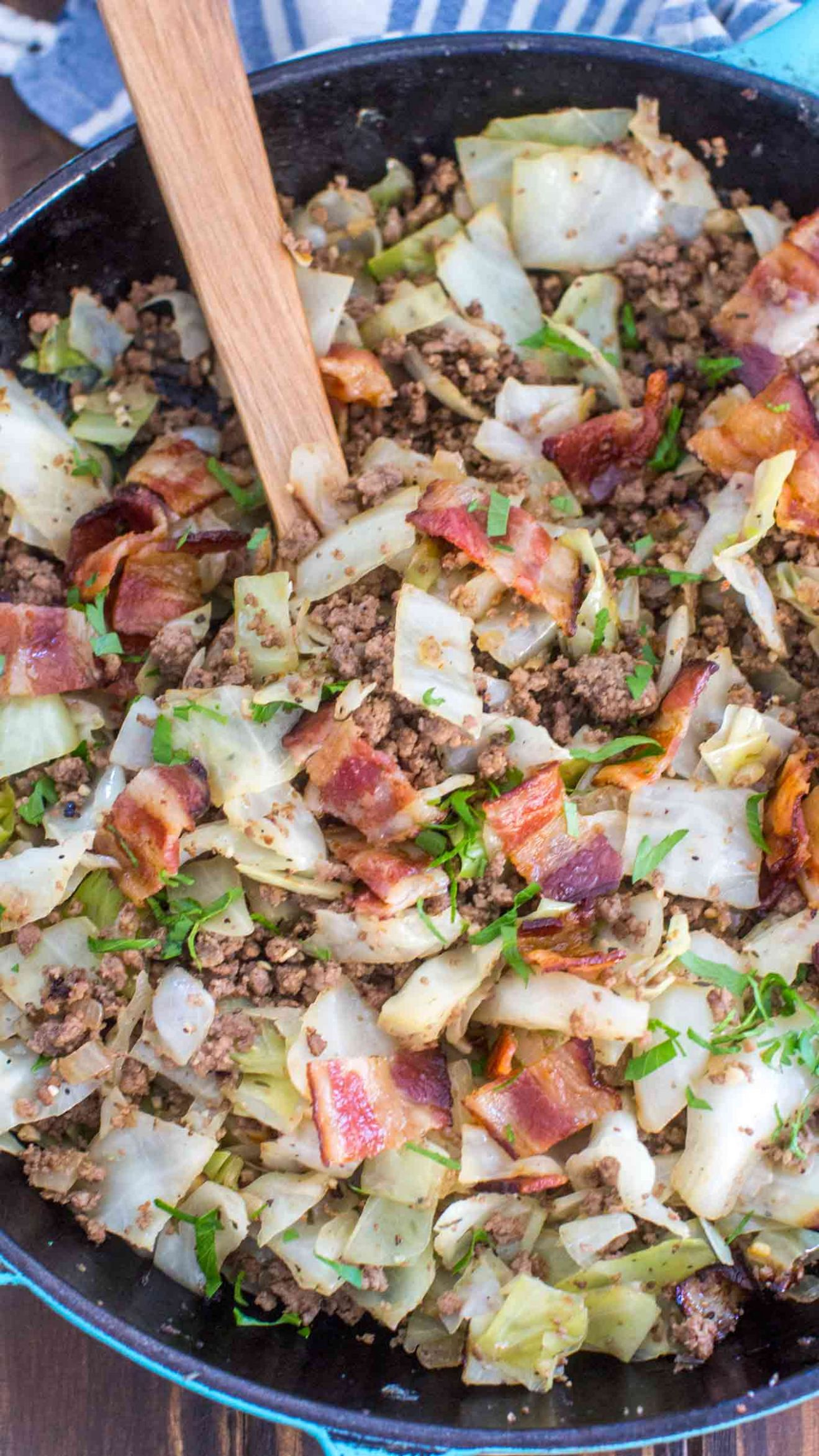 Ground Beef and Cabbage - Recipes Beef And Cabbage