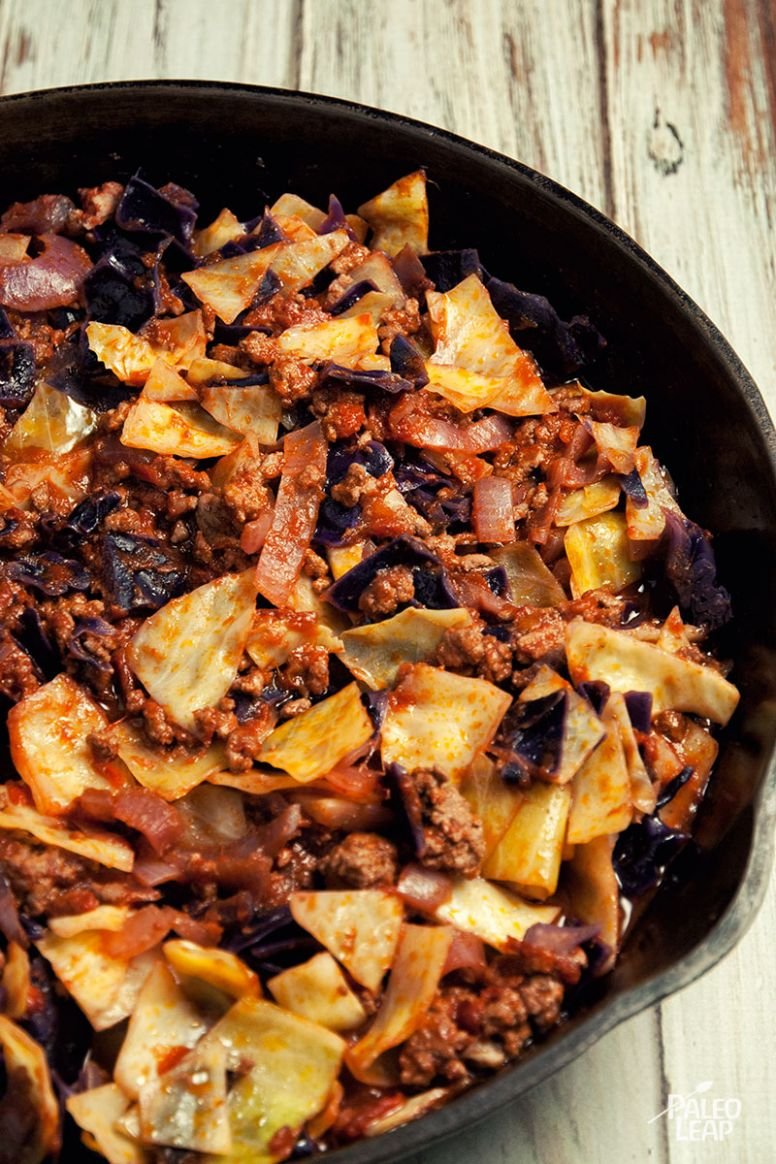 Ground Beef And Cabbage Skillet Recipe - Recipes Beef And Cabbage