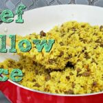 Ground Beef And Yellow Rice Recipe | One Pot Meal Idea | Simply Mama Cooks – Recipes With Yellow Rice And Ground Beef
