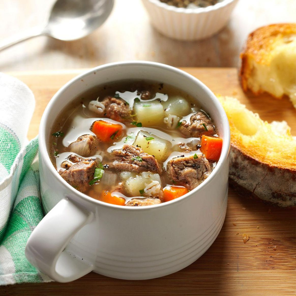 Ground Beef Barley Soup - Recipes Soup With Ground Beef