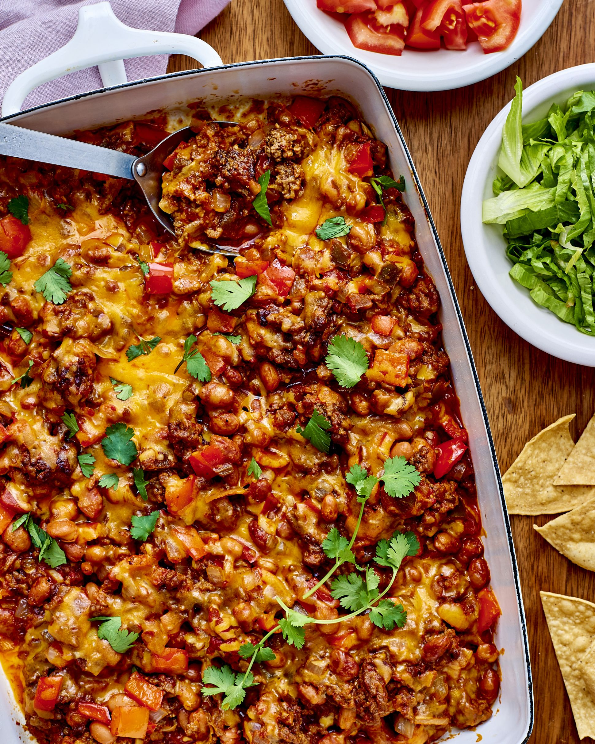 Ground Beef Taco Casserole - Food Recipes With Ground Beef