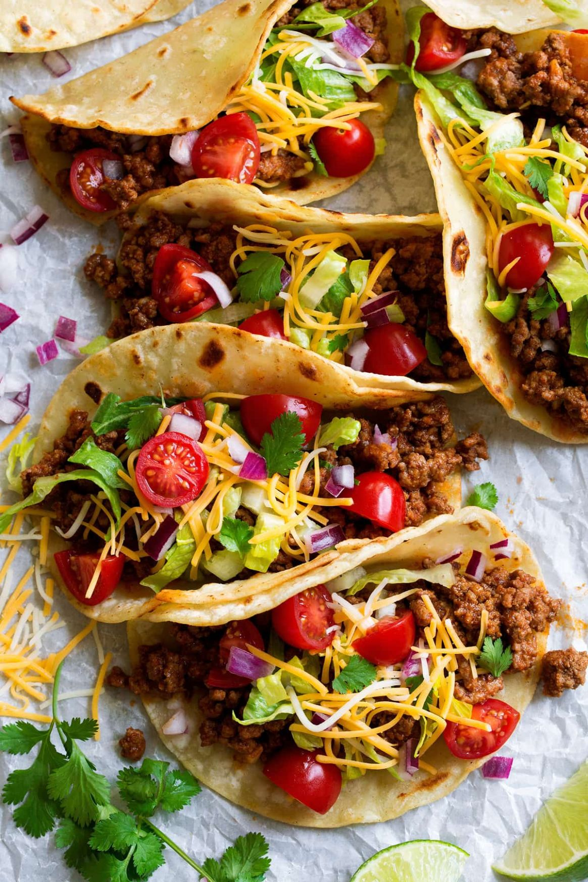 Ground Beef Tacos - Recipes Beef Tacos