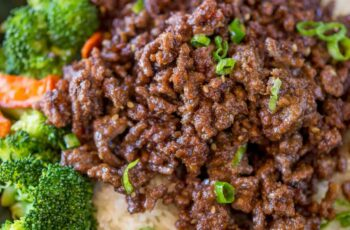 Ground Mongolian Beef