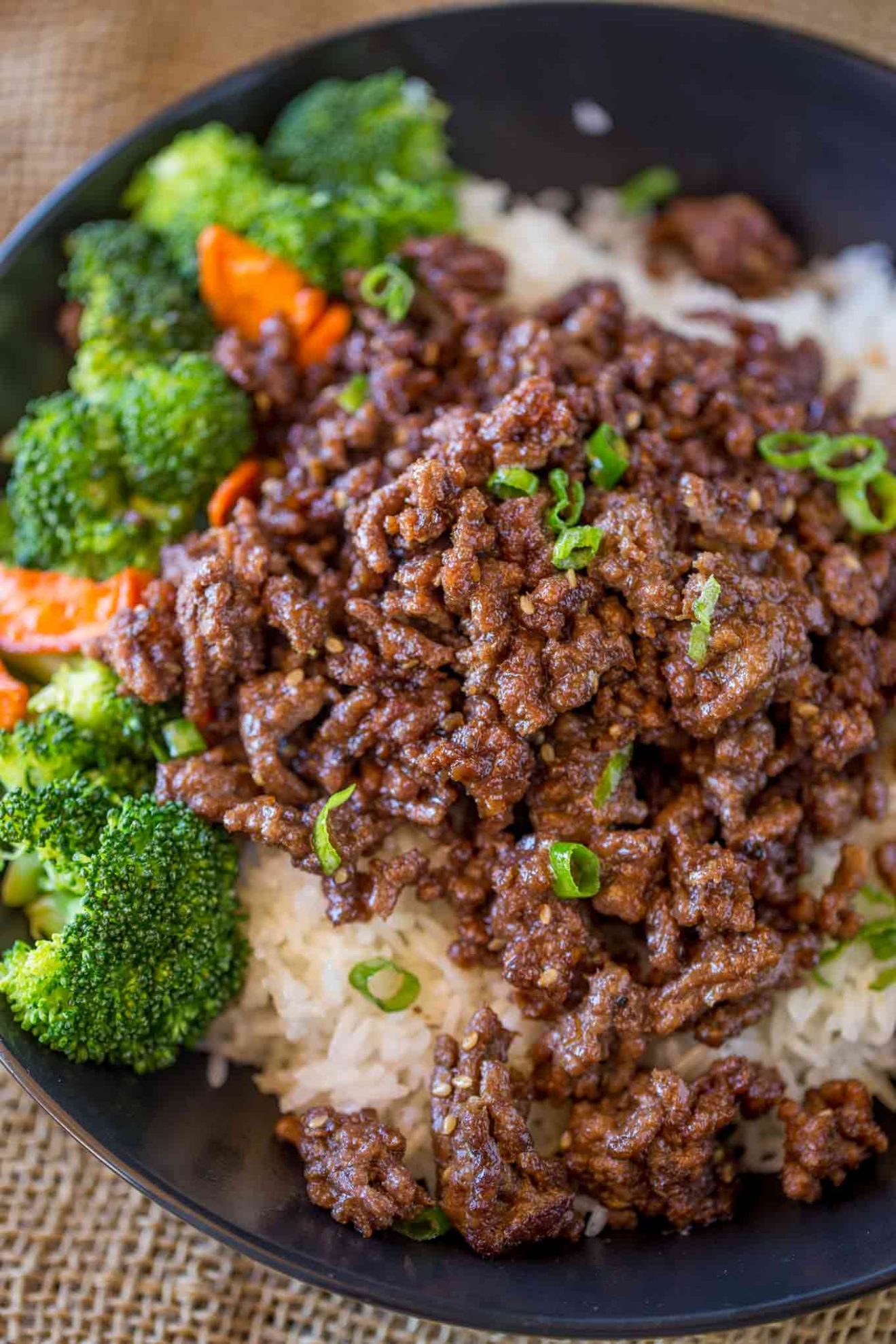 Ground Mongolian Beef - Recipes Rice Beef Mince
