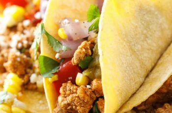Ground Pork Tacos