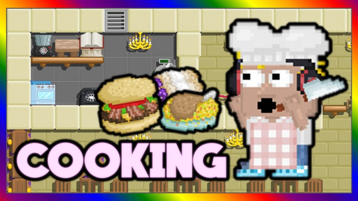 Growtopia | BRAND NEW FOOD! COOKING! (How To Cook) GUIDE - Food Recipes Growtopia
