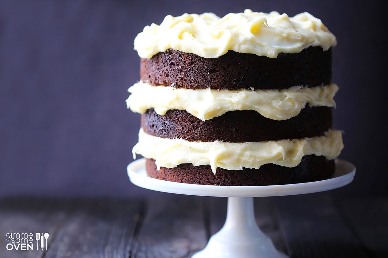 Guinness Chocolate Cake with Cream Cheese Frosting - Recipe Chocolate And Guinness Cake