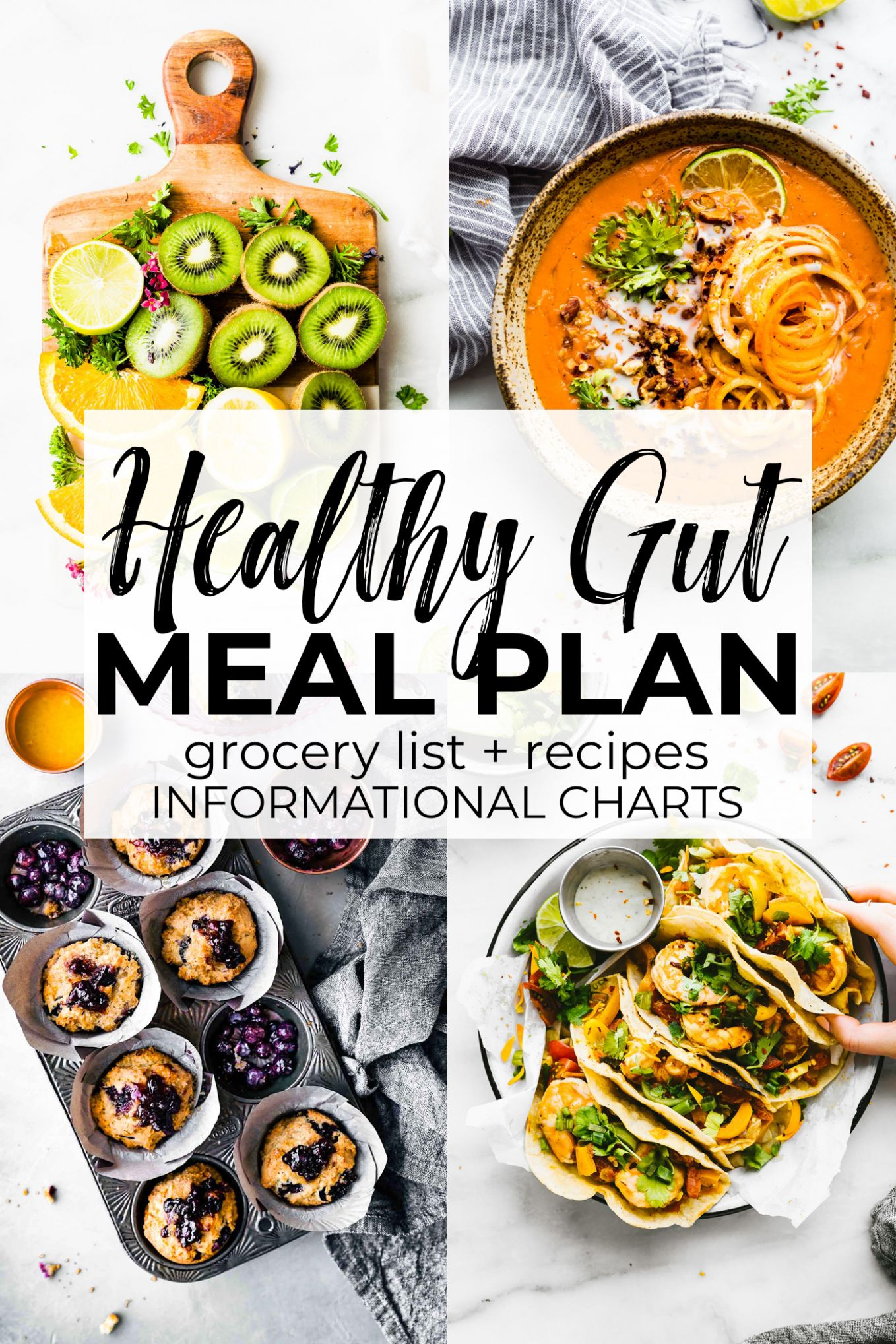 Gut Healthy Foods Healthy Meal Plan | Cotter Crunch - Healthy Recipes Meal Plan