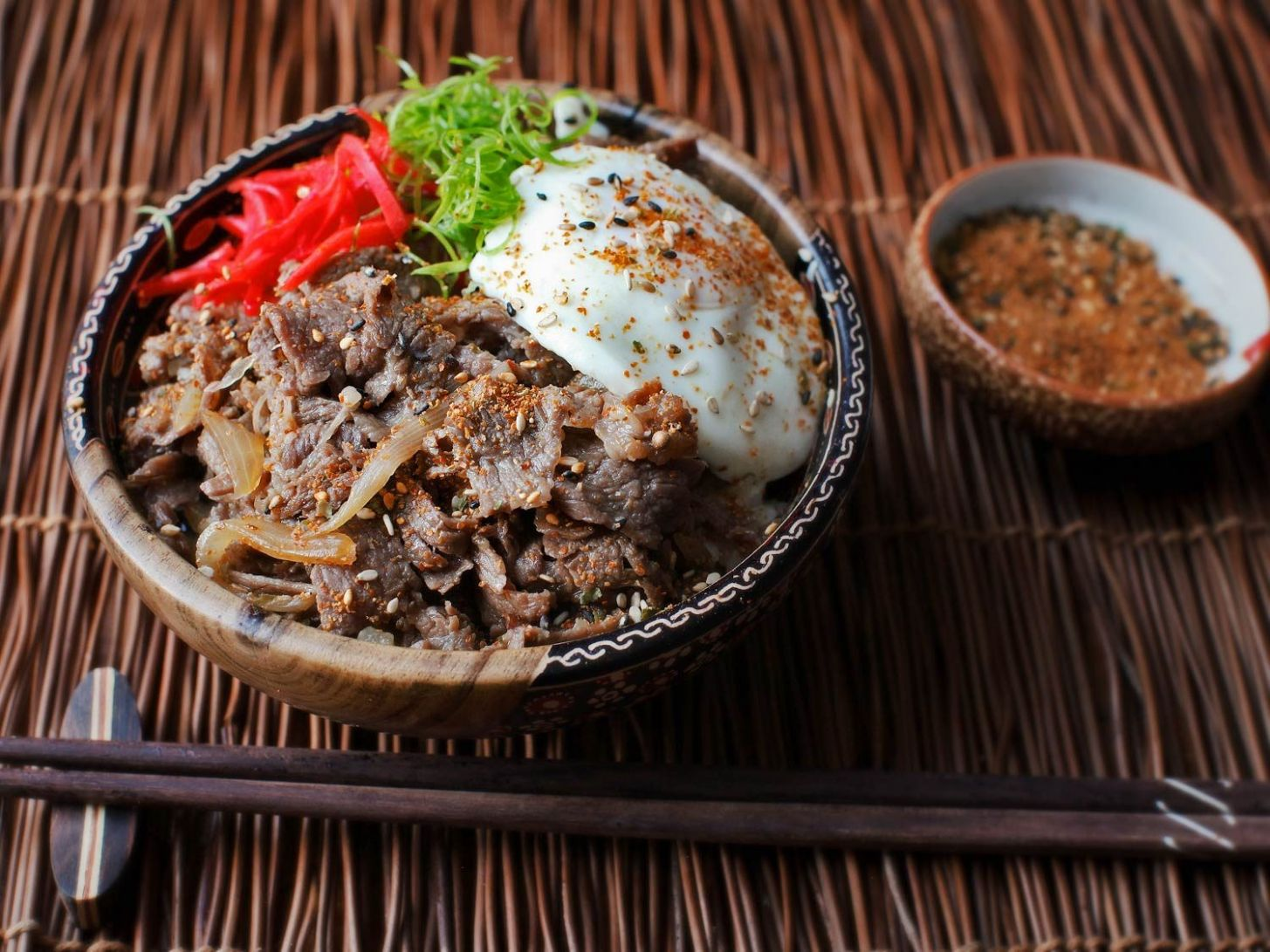 Gyudon (Japanese Simmered Beef and Rice Bowls) Recipe | Serious Eats - Food Recipe Japan