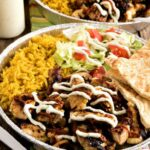 Halal Cart Style Chicken And Rice With White Yogurt Sauce – Food Recipes Halal