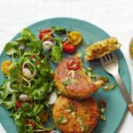 Halloumi, Courgette And Herb Cakes – Recipes Fish Halloumi