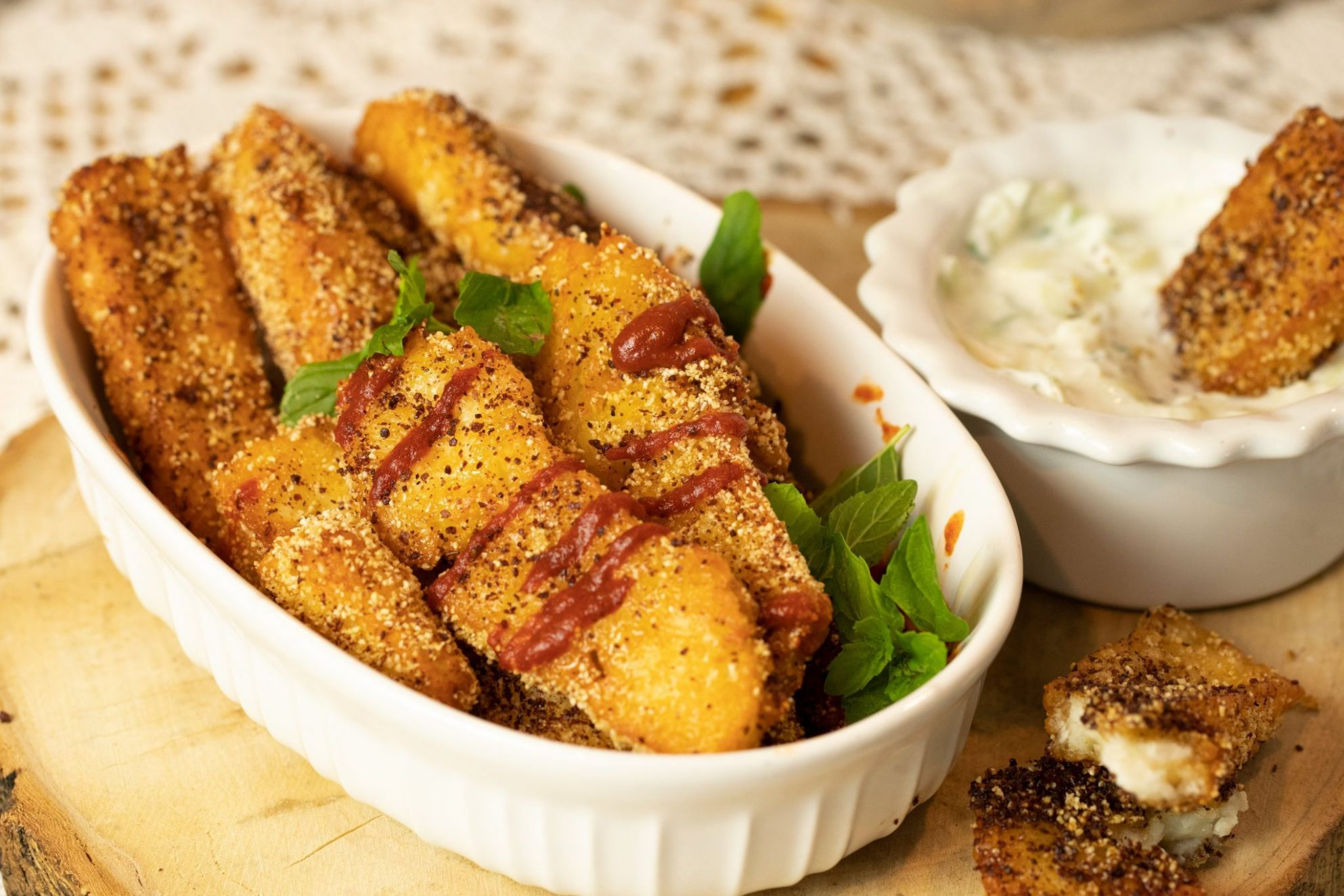 Halloumi Fries - Recipes Fish Halloumi