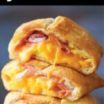 Ham Egg And Cheese Pockets – Breakfast Recipes Easy To Make