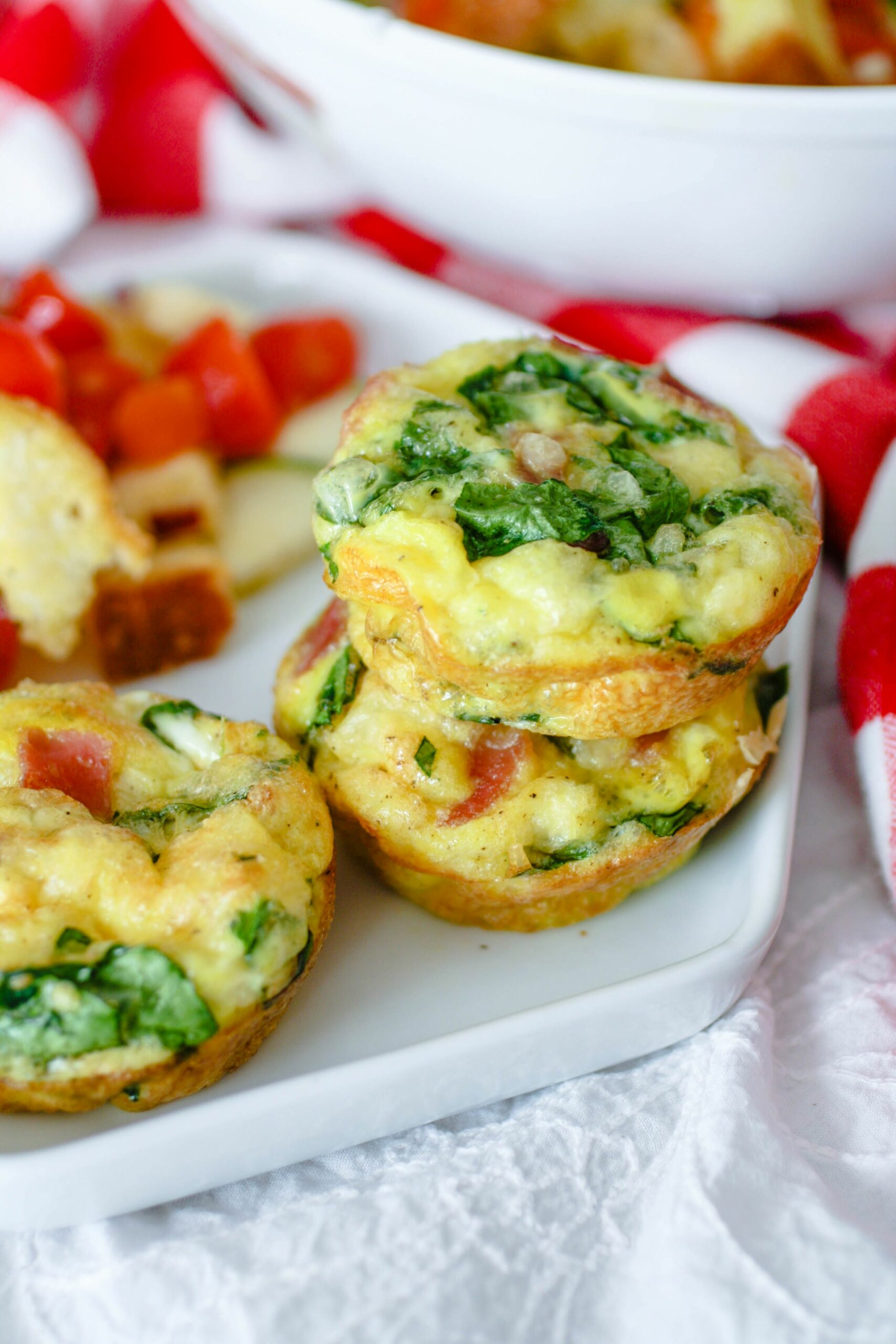 Ham, Swiss, and Spinach Egg Muffin Cups - Recipes Egg Muffin Cups