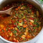 Hamburger Soup – Cooking Classy – Soup Recipes Using Ground Beef